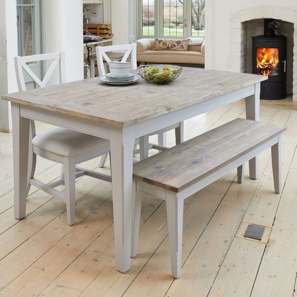 Signature Grey Extending Dining Table
