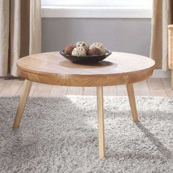 San Francisco Round Ash Coffee Table