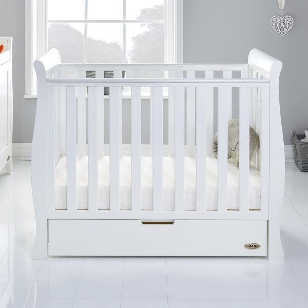 Stamford Space Saver Sleigh Cot