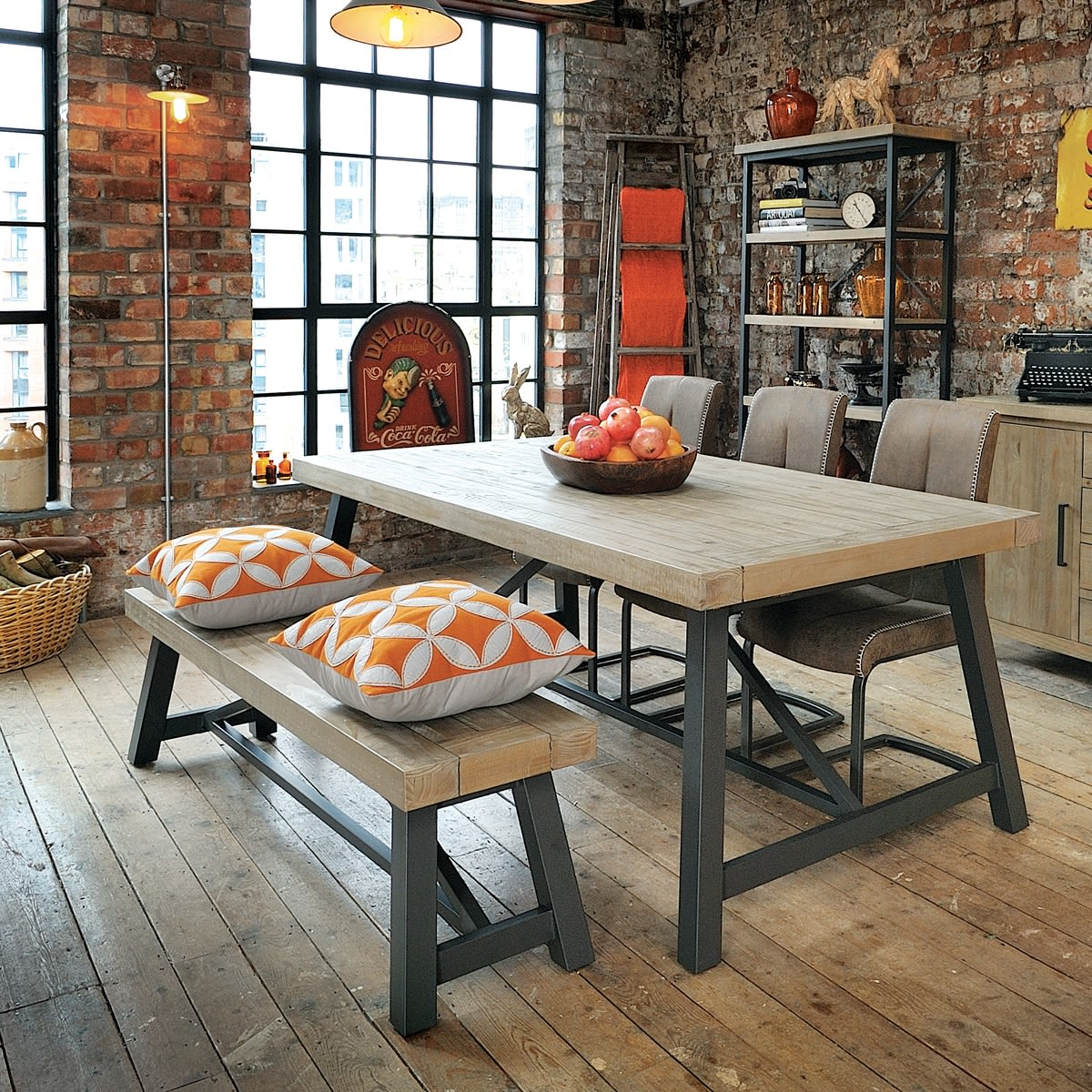 Hulstone Industrial Dining Table