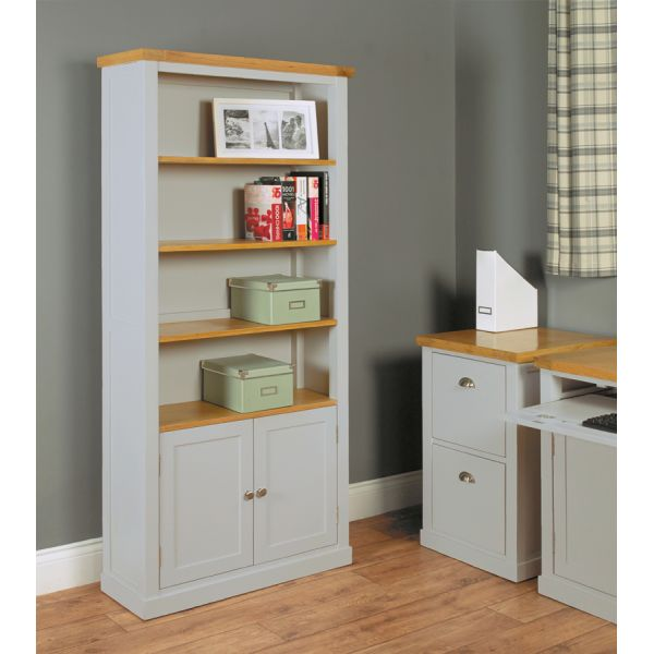 Chadwick Large Bookcase With Doors