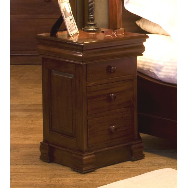 La Roque Four Drawer Mahogany Lamp Table