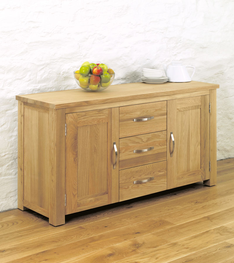 Aston Oak Large Sideboard Wooden Furniture Store