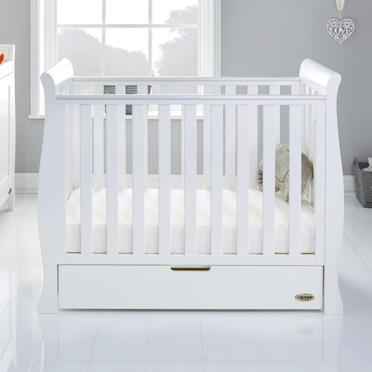 Furniture Stores Stamford Ct: Stamford Space Saver Sleigh Cot Was £259.99 Now £239.99