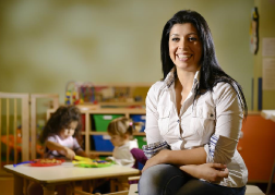Early Years Practitioner in a nursery