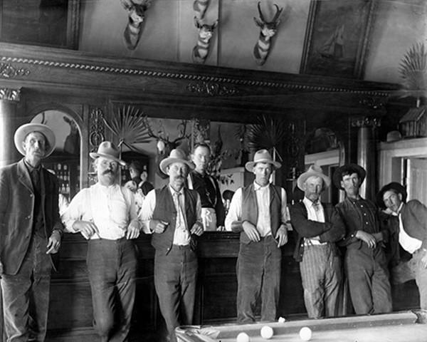 Rube Tuttle Saloon circa 1910