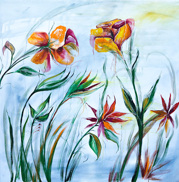 Acrylic painting by prophetic artist Patti Hricinak-Sheets.