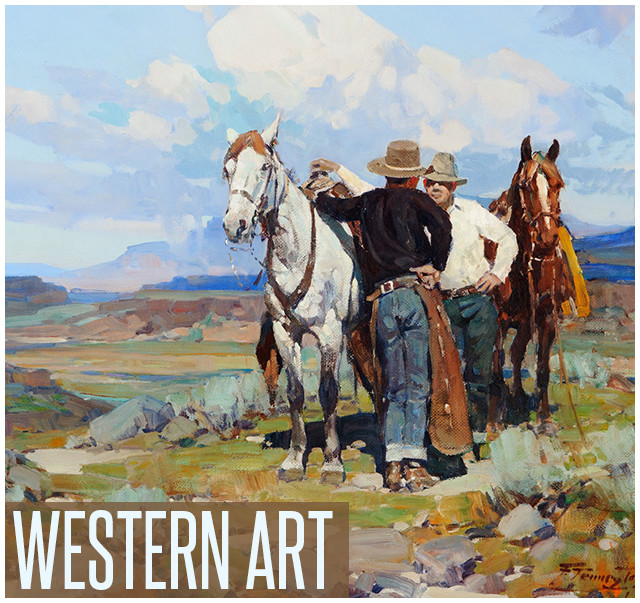 Shop prints of western artwork