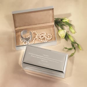 Mother's Keepsake Jewelry Box