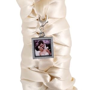 Photo Bouquet Charm with Lobster Claw