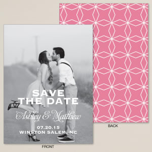 Love Connection Save the Date Card