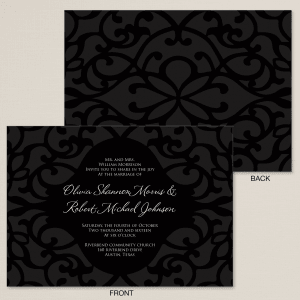 Timeless Wedding Invitation