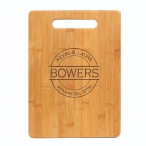 13x9in Customized Bamboo Cutting Board