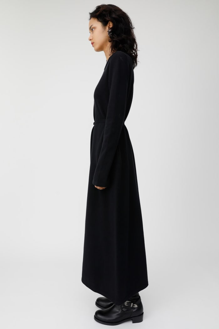 SLIT SLEEVE knitted dress