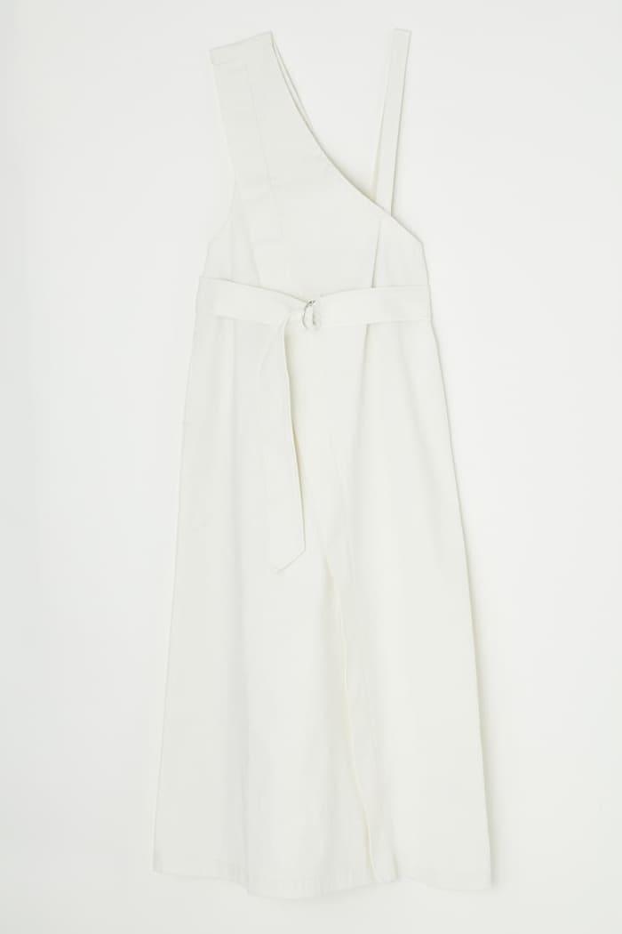 ASYMMETRY DENIM dress