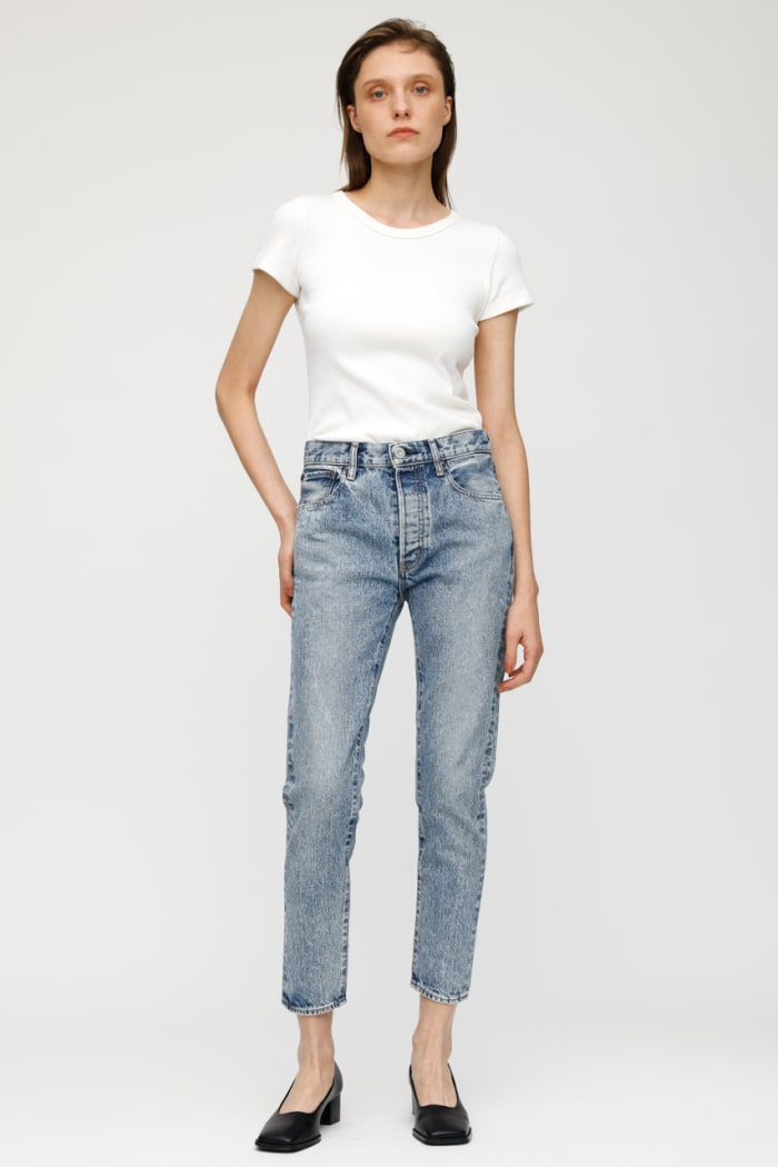 MV HOWELLS TAPERED HIGH-WAISTED JEANS