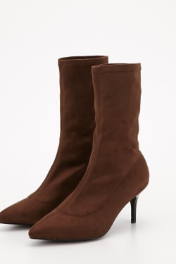 F / SUEDE BOOTS