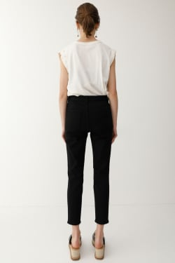 iSKO JW EMOTION BLACK SKINNY JEANS