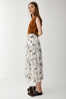FLOATING FLOWER skirt