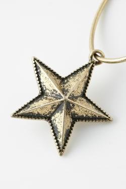 STAR MOTIF earrings
