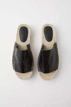 JUTE FLAT sandals