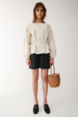 WAIST GATHER 2 WAY blouse