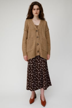 MIDDLE LENGTH KNIT Cardigan