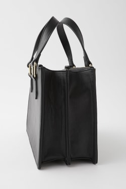 DOUBLE ZIP SHOULDER bag 2