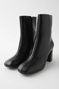 SQUARE TOE MIDDLE BOOTS