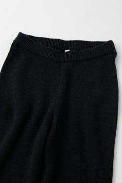 RIB FLARE KNIT pants