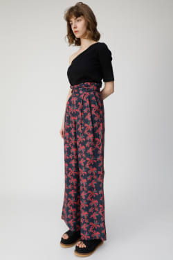 VACAY FLOWER wide pants