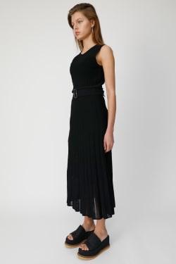 PLEATS LONG KNIT Dress