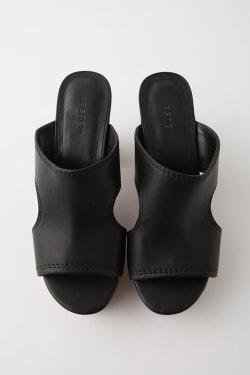 CUT OUT PLATFORM Sandals