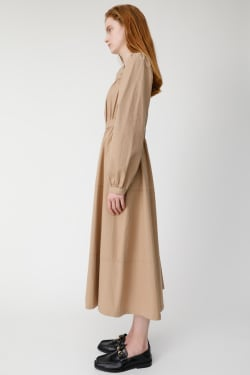 SQUARE NECK LONG Dress