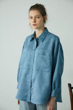 SQUARE EMBROIDERED SHIRT