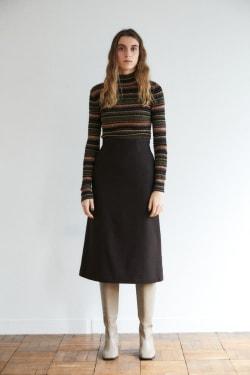 WOOL A LINE skirt
