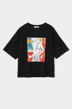 STUDIOWEAR AUTO MOAI T-shirt
