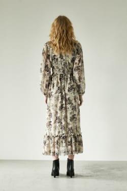 PAISLEY PATTERN DRESS