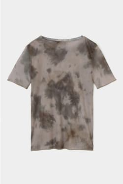 TIE DYE SEE THROUGH T-shirt
