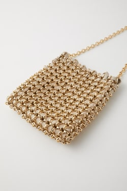 METAL SHOULDER bag