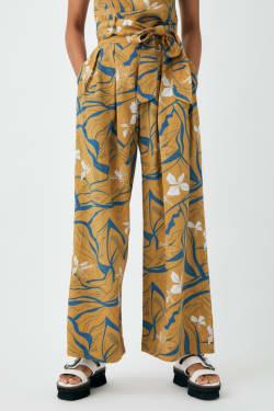 FLORAL WAVE pants