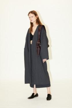 [M_] LINEN BLEND gown