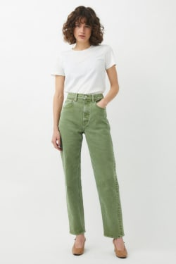 PLAIN JEANS COLOR STRAIGHT