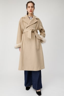 OS LONG SLIT TAILORED COAT