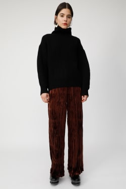 HI NECK VOLUME SLEEVE knit