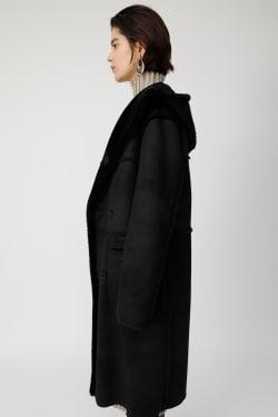 REVER FAUX MOUTON coat