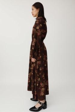 FLOWER SMOCK dress