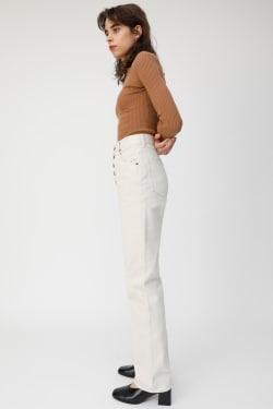 FRONT BUTTON COLOR Pants