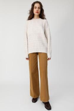 LINKS PATTERN knit