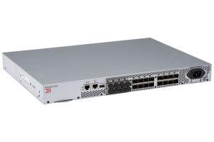 Dell Brocade 300 24x SFP+ Ports (8 Active) Switch w/ 8x 8Gb GBICs - D4XG7 - Ref